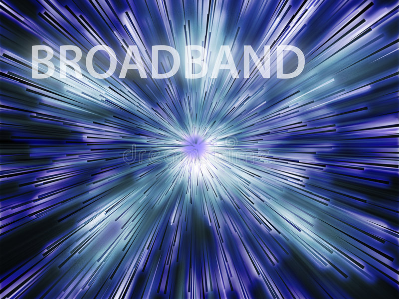 Download Broadband illustration stock illustration. Image of glowing - 6761720