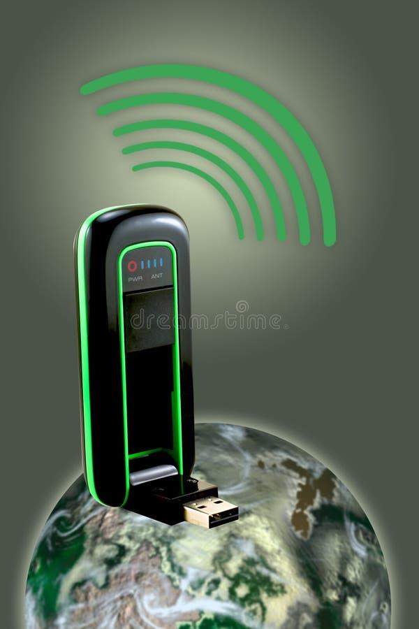 Broadband Modem vector illustration
