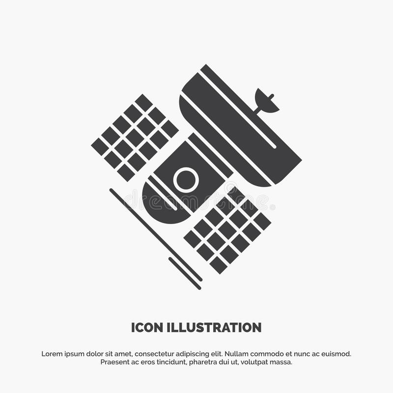 Broadcast, broadcasting, communication, satellite, telecommunication Icon. glyph vector gray symbol for UI and UX, website or. Mobile application. Vector EPS10 vector illustration