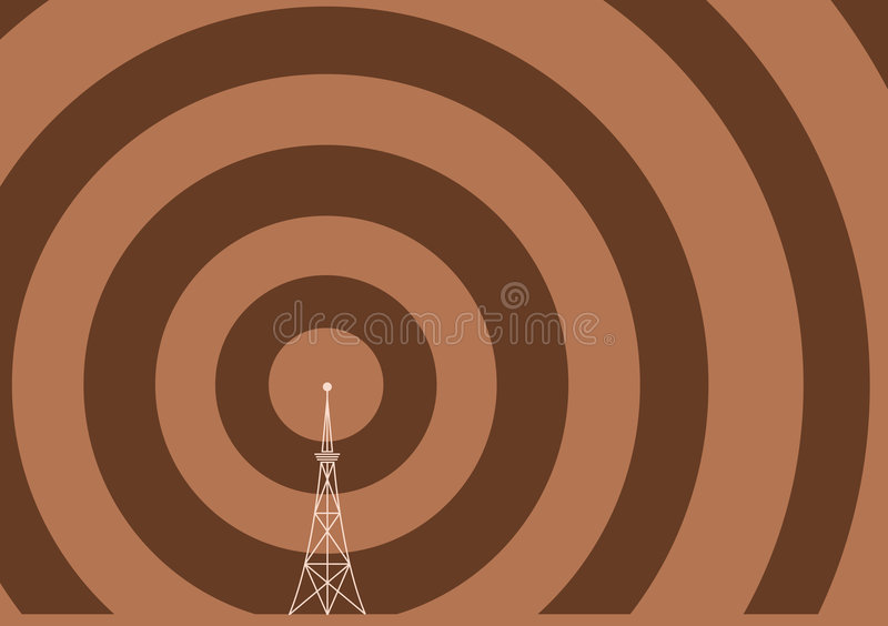 Broadcast Tower Royalty Free Stock Photo
