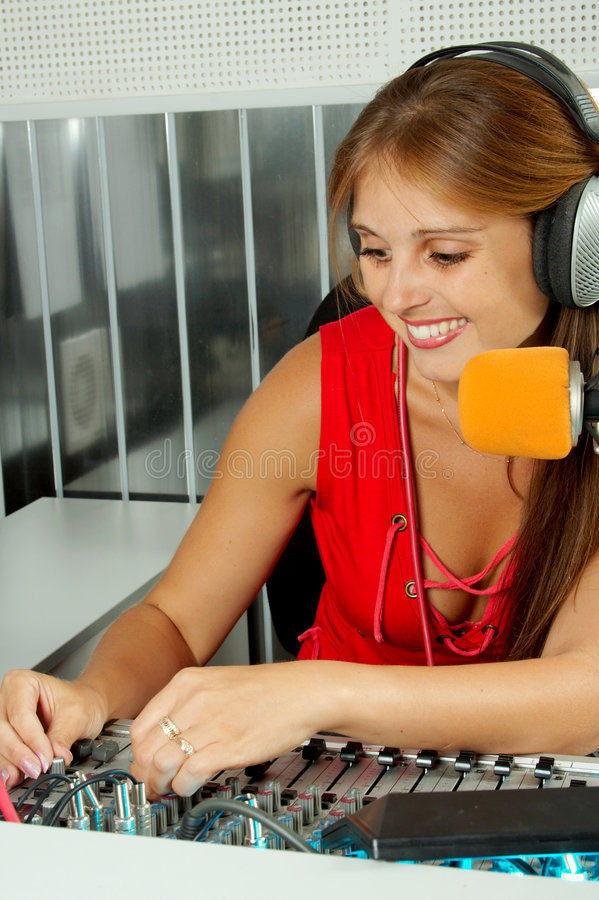 Download Broadcasting stock photo. Image of entertainment, face - 5874568