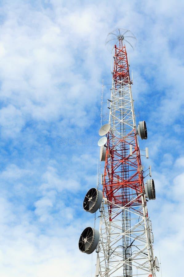 Download Broadcasting antenna stock image. Image of media, communication - 23035533