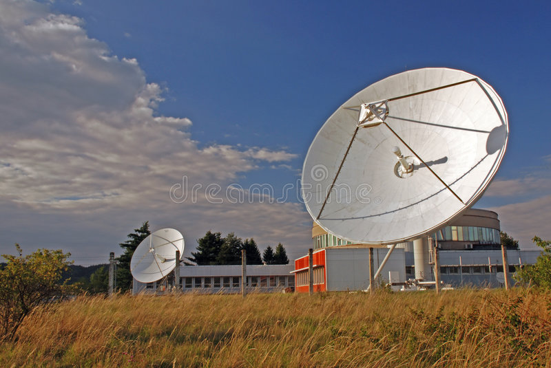 Broadcasting centre royalty free stock images
