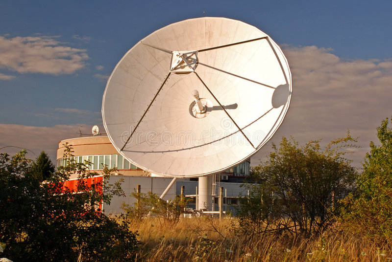 Broadcasting centre stock images