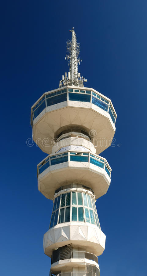 Download Broadcasting Tower In Thessaloniki (O.T.E. Tower) Royalty Free Stock Photography - Image: 18041387