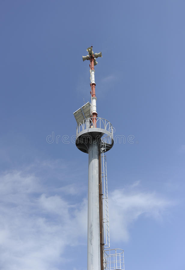 Download Broadcasting towers stock image. Image of section, connection - 34074503
