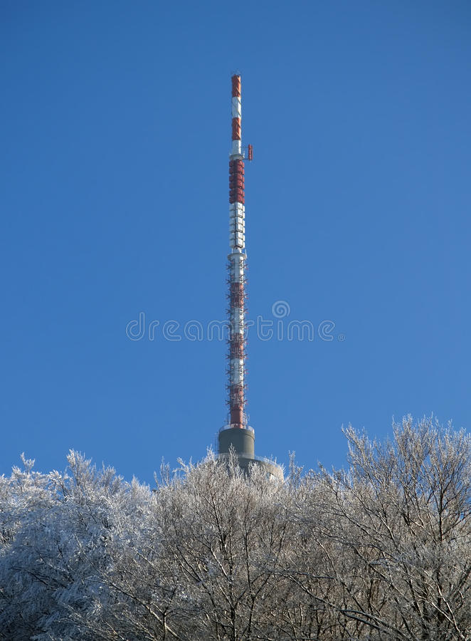 Download Broadcasting transmitter stock image. Image of radio - 15841771