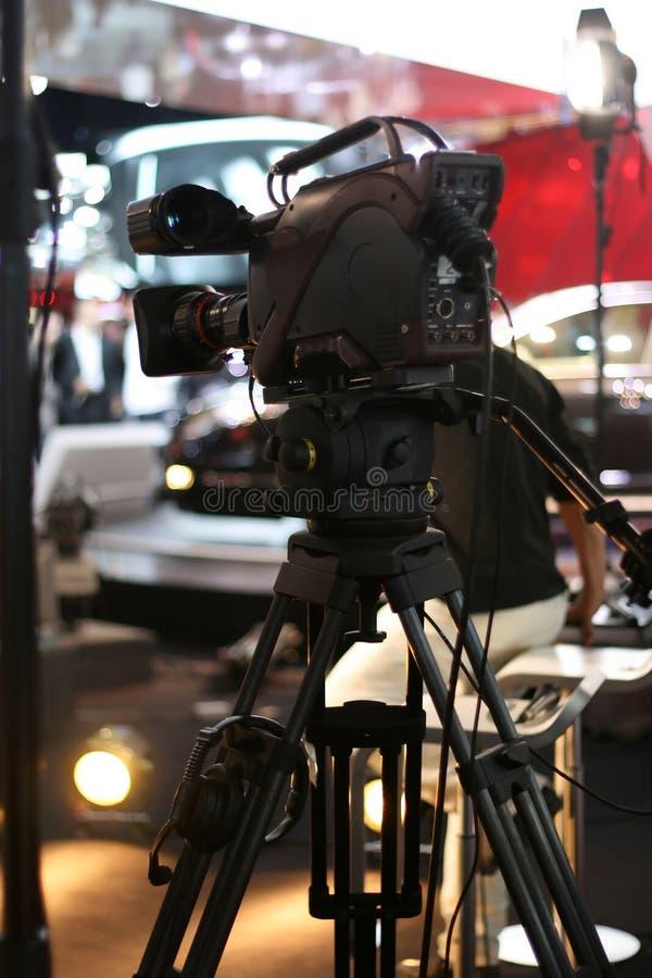 broadcastkameravideo royaltyfria foton