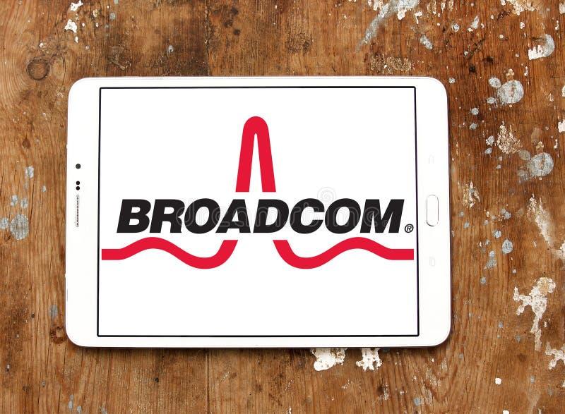 Broadcom company logo editorial image  Image of industy