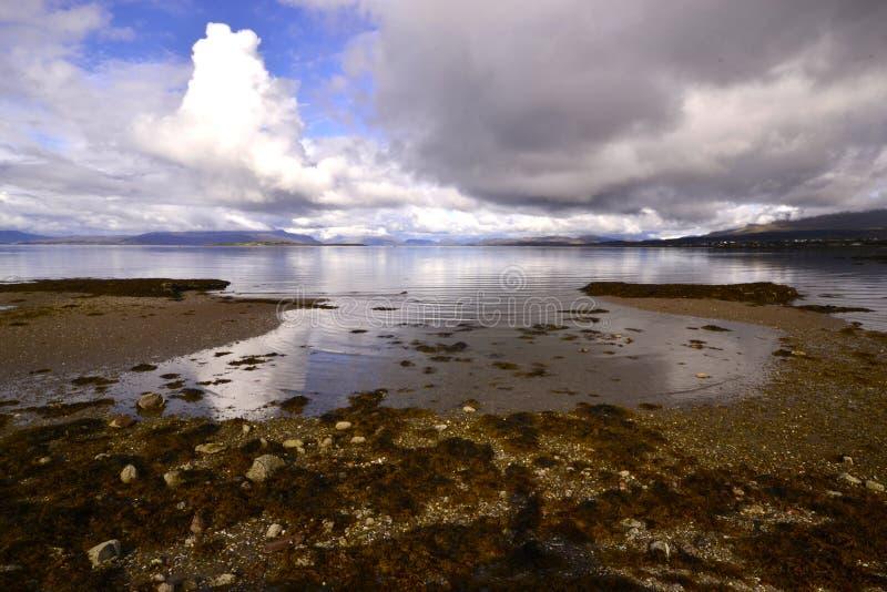 Broadford, île de Skye photo libre de droits