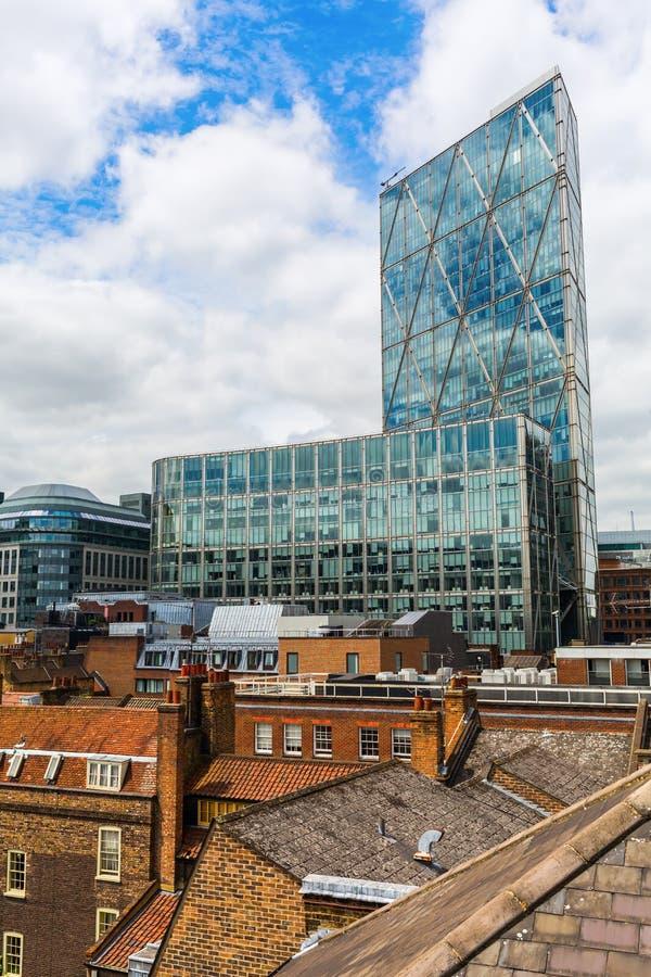 Broadgate Tower in London, UK stock photos