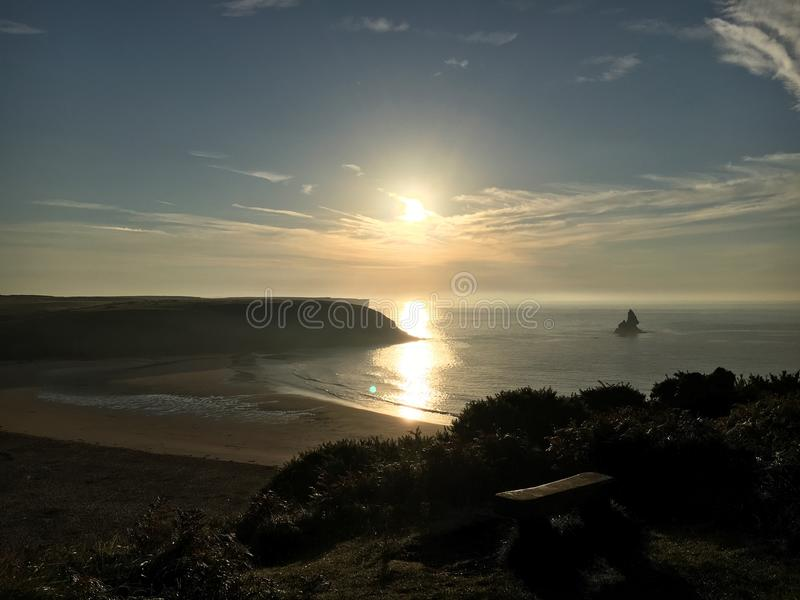 Broadhaven south stock photography