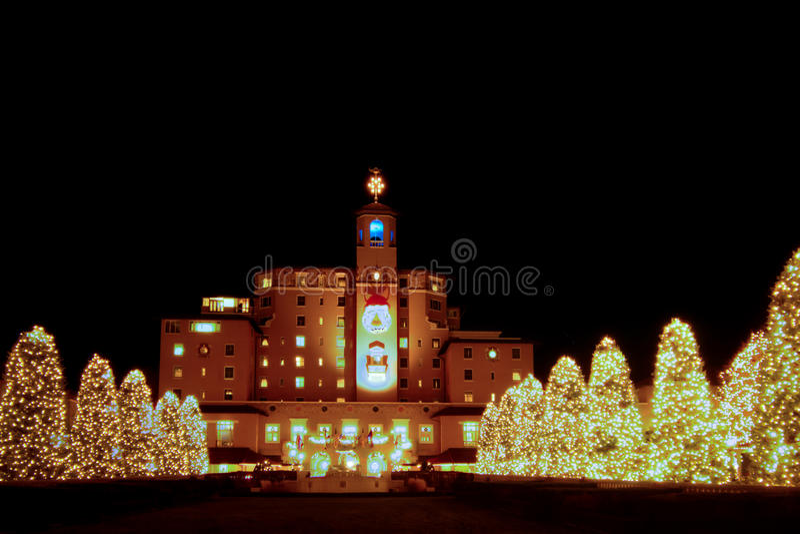 Broadmoor Hotel stockfoto
