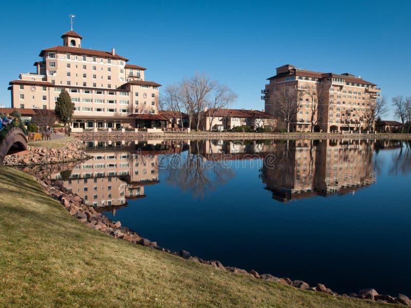 Broadmoor hotel zdjęcie royalty free