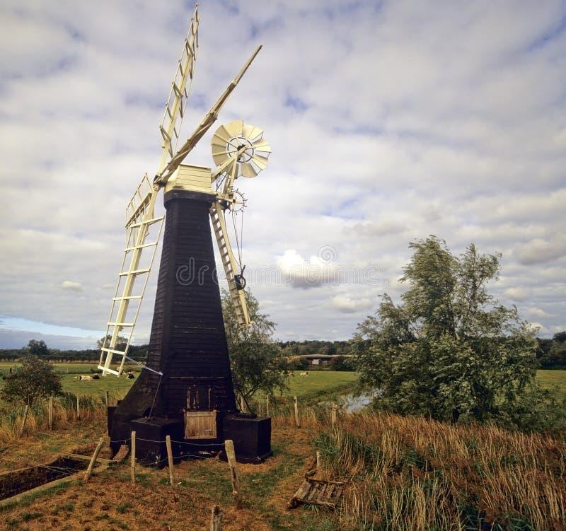 Broads de Norfolk fotografía de archivo