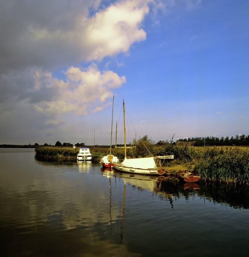 Broads de Norfolk imagens de stock royalty free