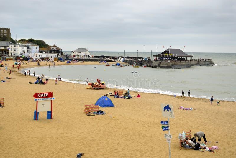 broadstairs пляжа стоковые изображения