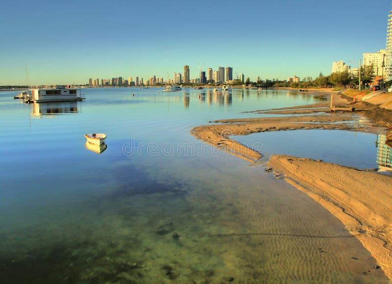 Broadwater Gold Coast stock photography