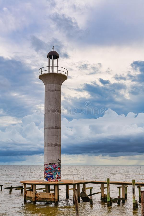 Broadwater Lighthouse royalty free stock image