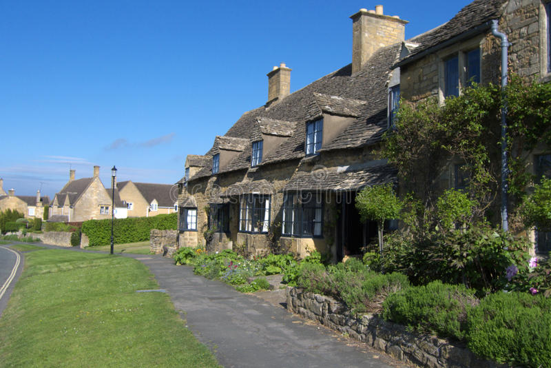 broadway χωριό Worcestershire στοκ εικόνα με δικαίωμα ελεύθερης χρήσης