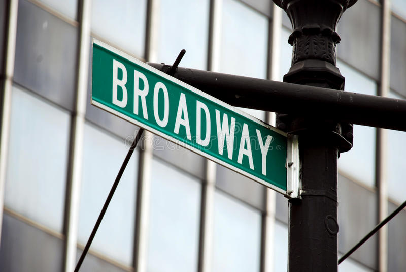 Broadway images stock