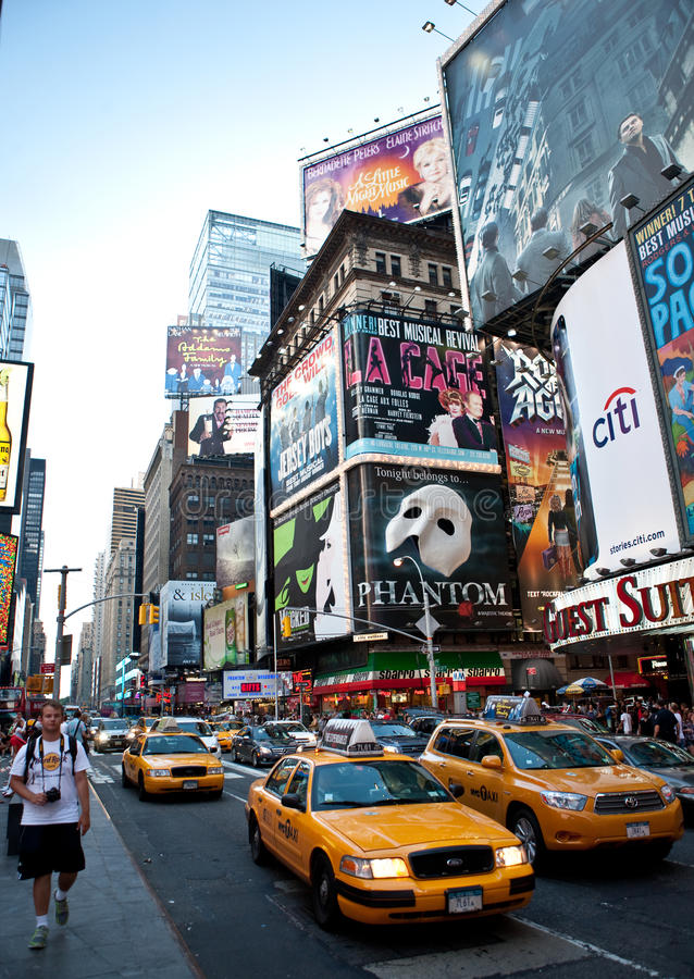 Broadway imagem de stock royalty free