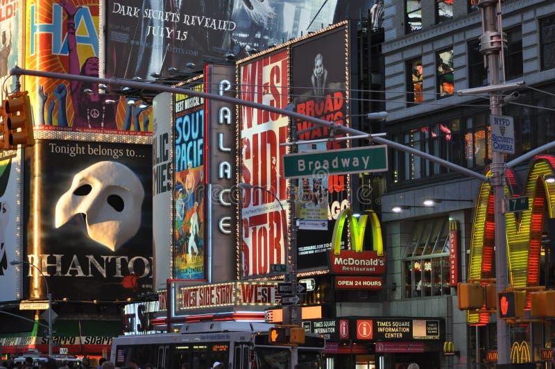 Broadway fotografia de stock