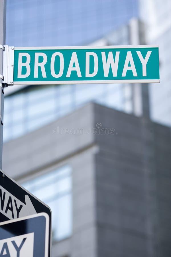 Broadway stock foto