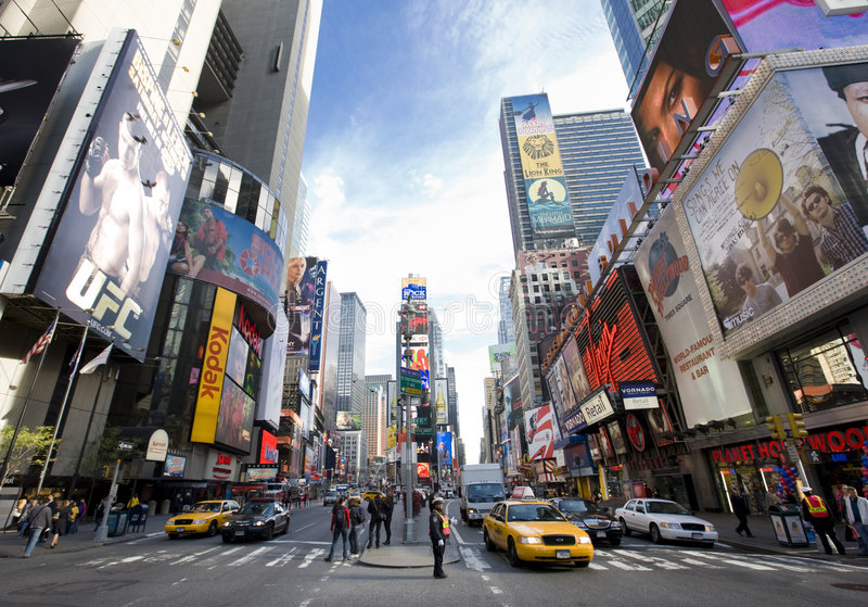 Broadway stock photography