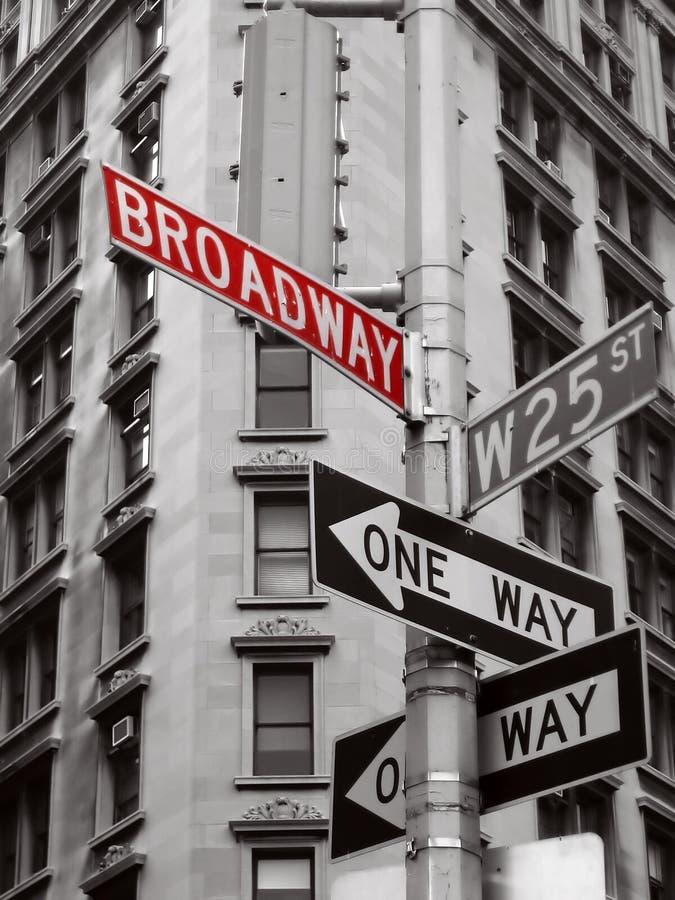 broadway стоковые фотографии rf