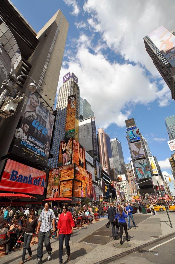 Broadway e Times Square, New York City imagem de stock