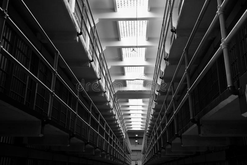 Broadway em Alcatraz fotos de stock royalty free