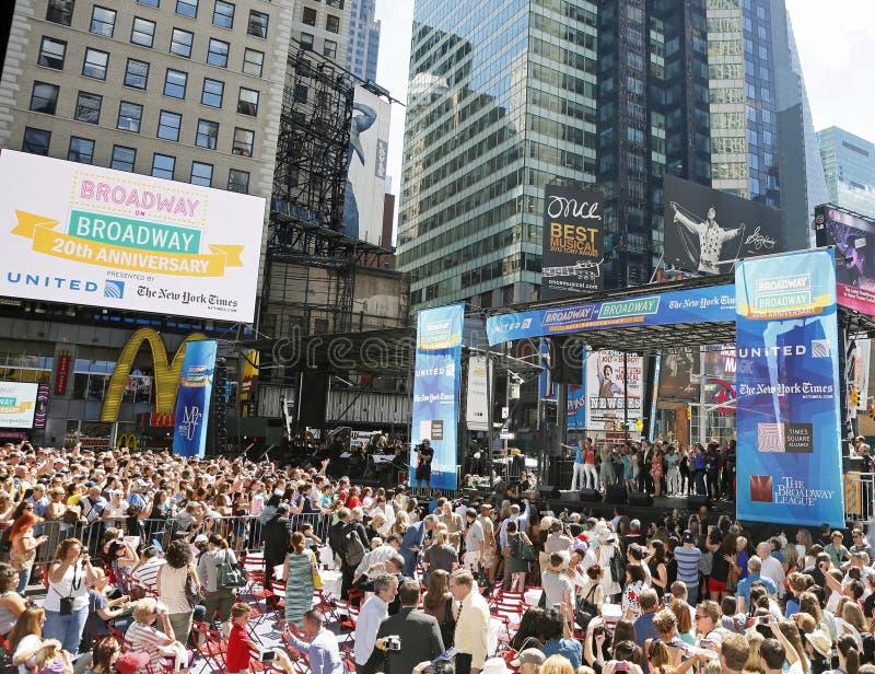 Broadway em Broadway fotografia de stock royalty free