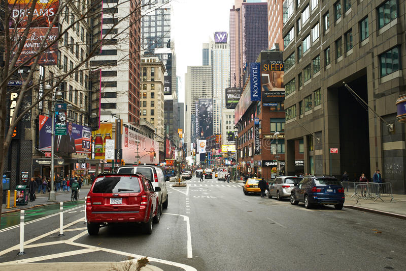 Broadway em Manhattan foto de stock royalty free