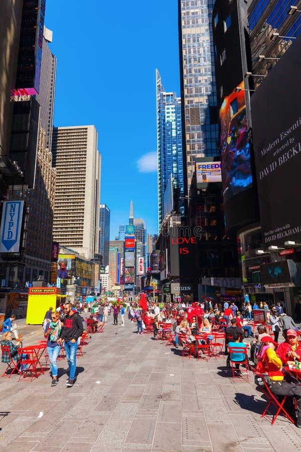 Broadway em Manhattan, NYC fotos de stock royalty free