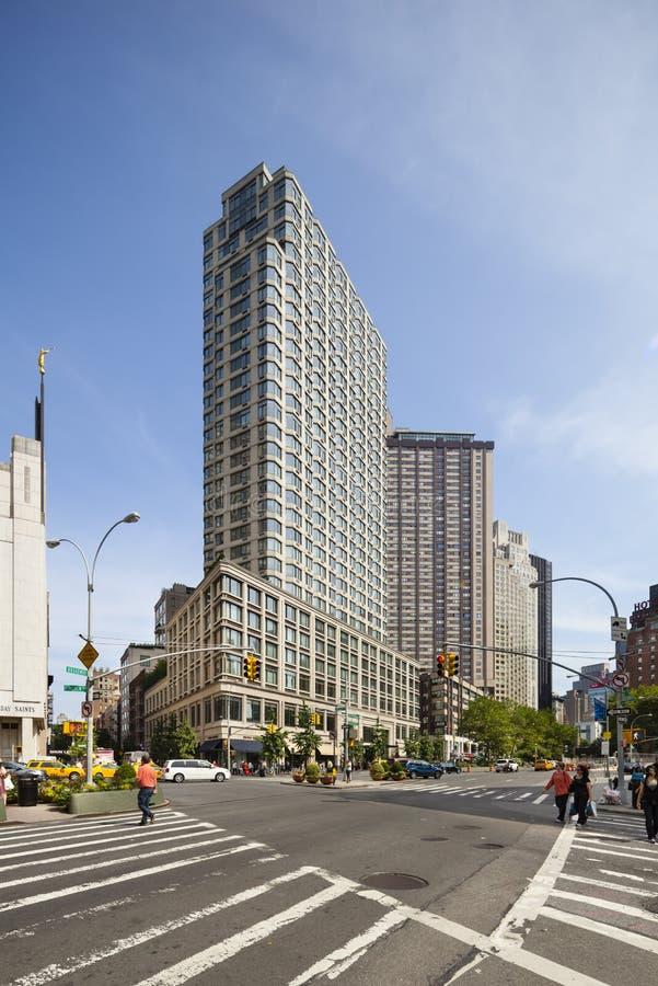 Broadway i New York, ledare fotografering för bildbyråer