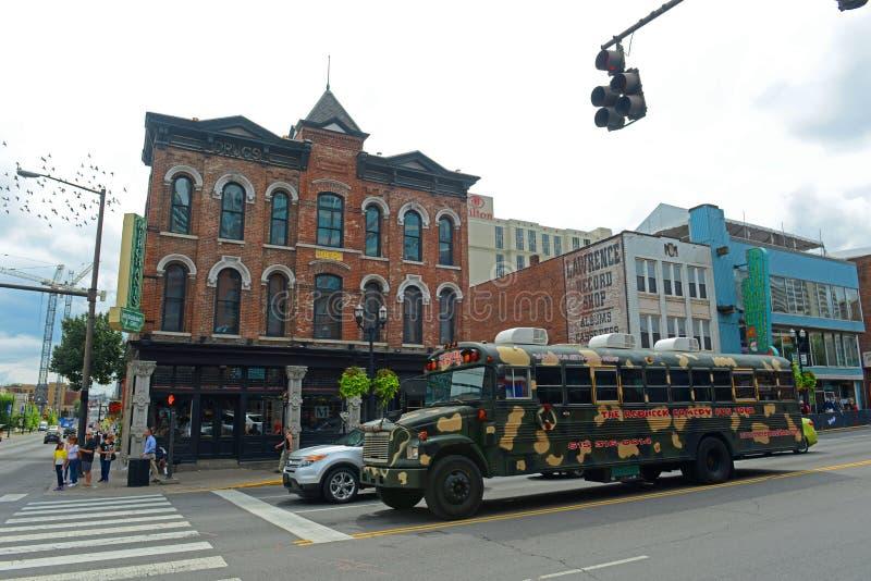 Broadway, Nashville, Tennessee, EUA fotografia de stock royalty free