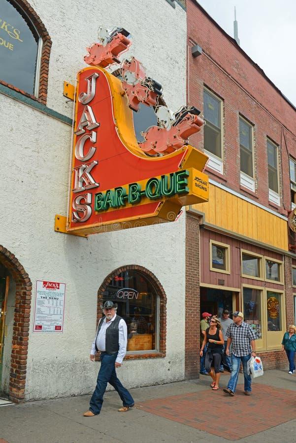 Broadway, Nashville, Tennessee, EUA fotos de stock royalty free