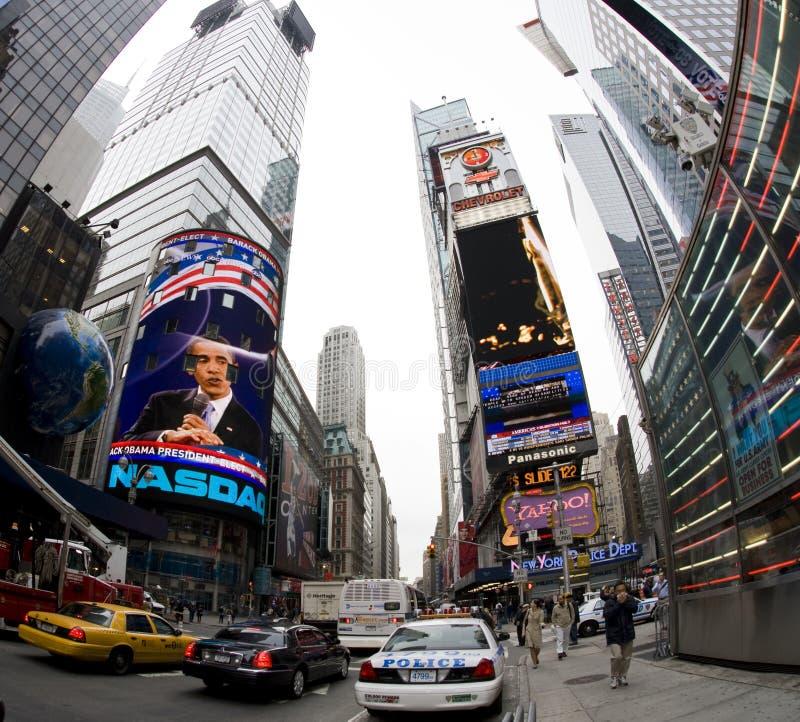 broadway new york στοκ εικόνα με δικαίωμα ελεύθερης χρήσης