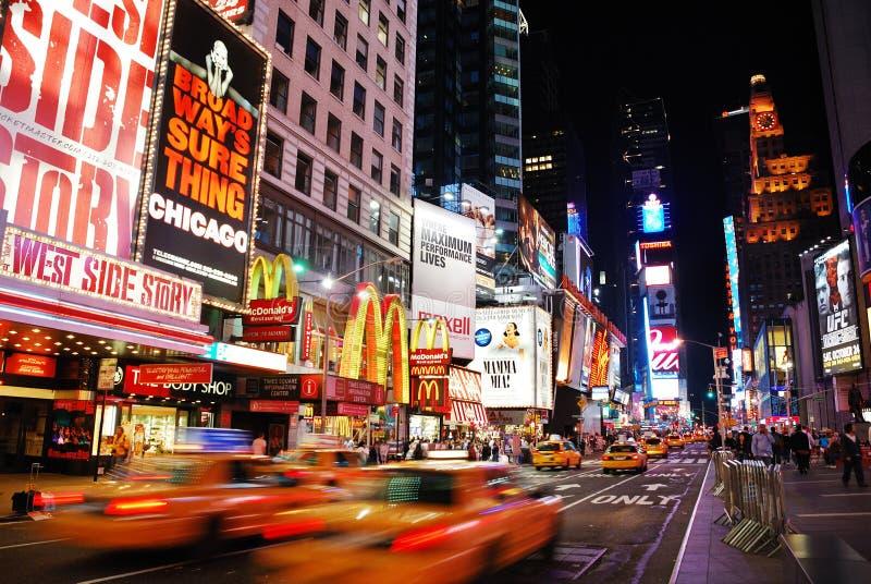 Broadway, New York City fotografie stock