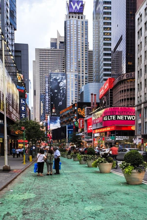 Broadway, New York City, EUA fotos de stock royalty free