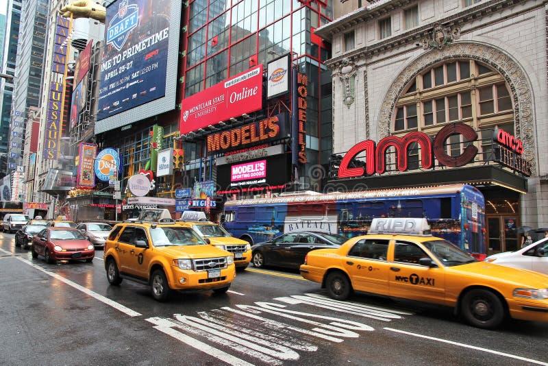 Broadway, NY fotos de archivo
