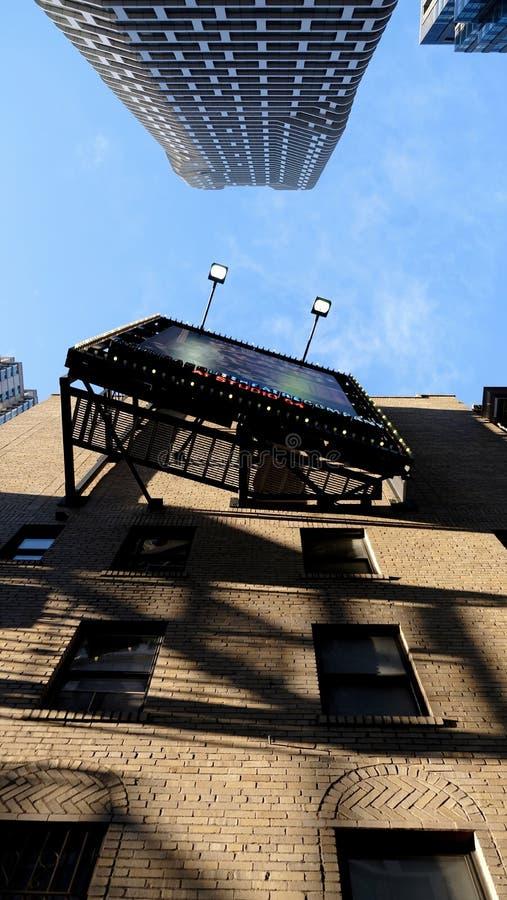 Broadway-Plakat in Manhattan, NYC lizenzfreie stockfotografie