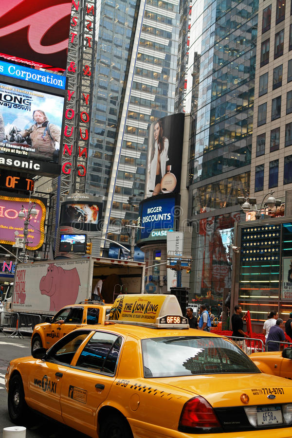broadway stad New York arkivfoton