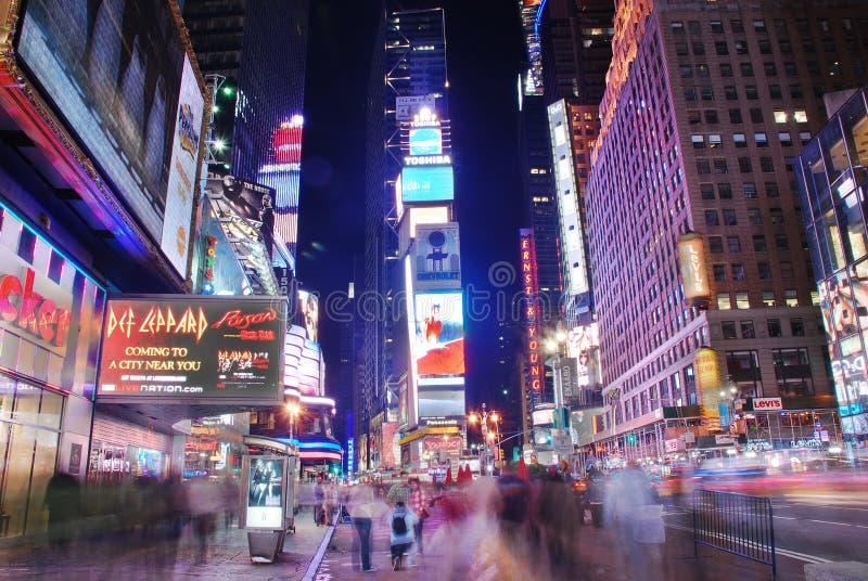 Broadway-Straßenansicht, New York City lizenzfreies stockfoto