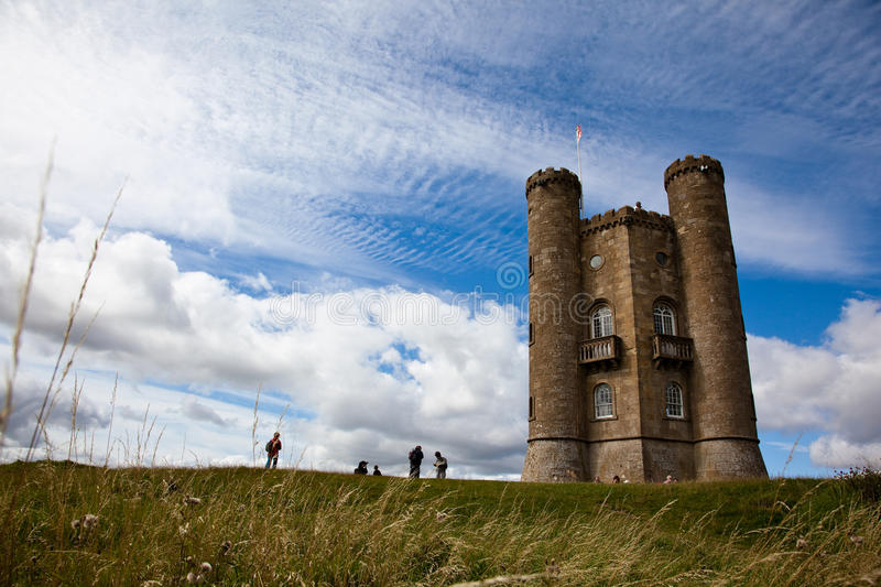Broadway Tower royalty free stock photography