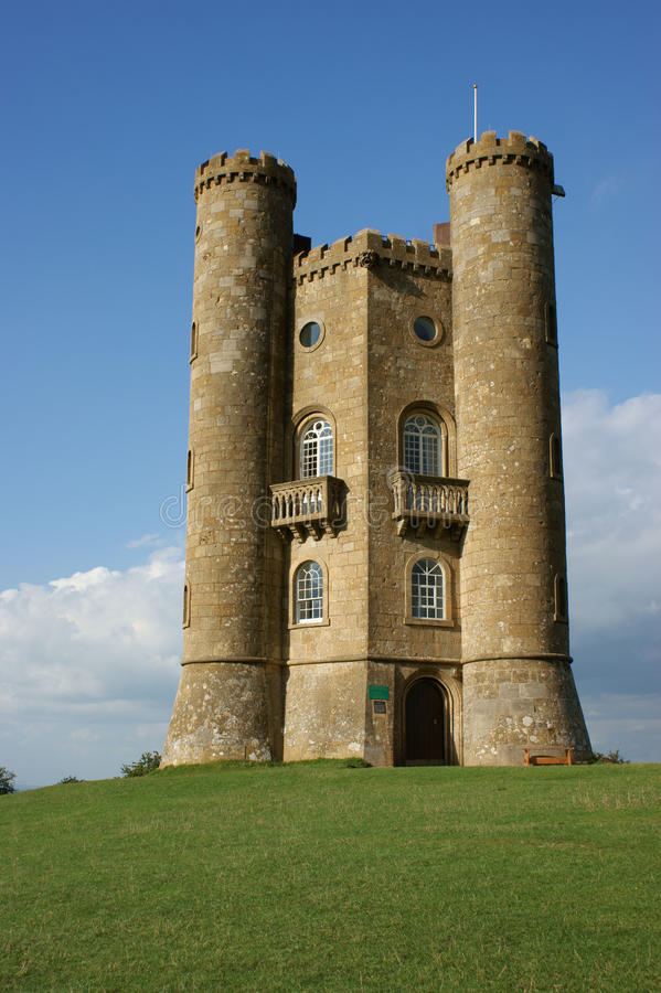 Download Broadway Tower stock photo. Image of 18th, stone, tower - 15827992