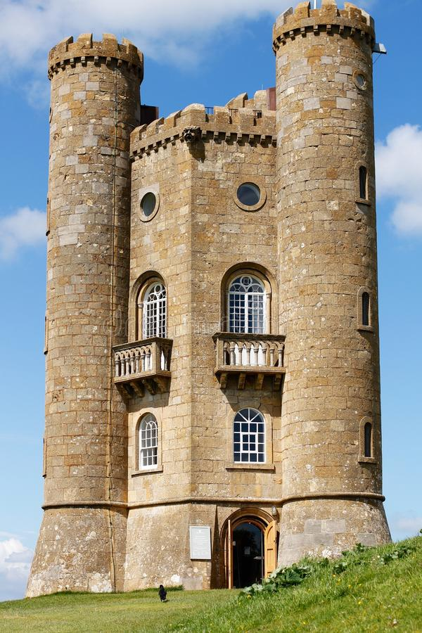 Free Broadway Tower - Folly In Cotswolds England Stock Photography - 55148902