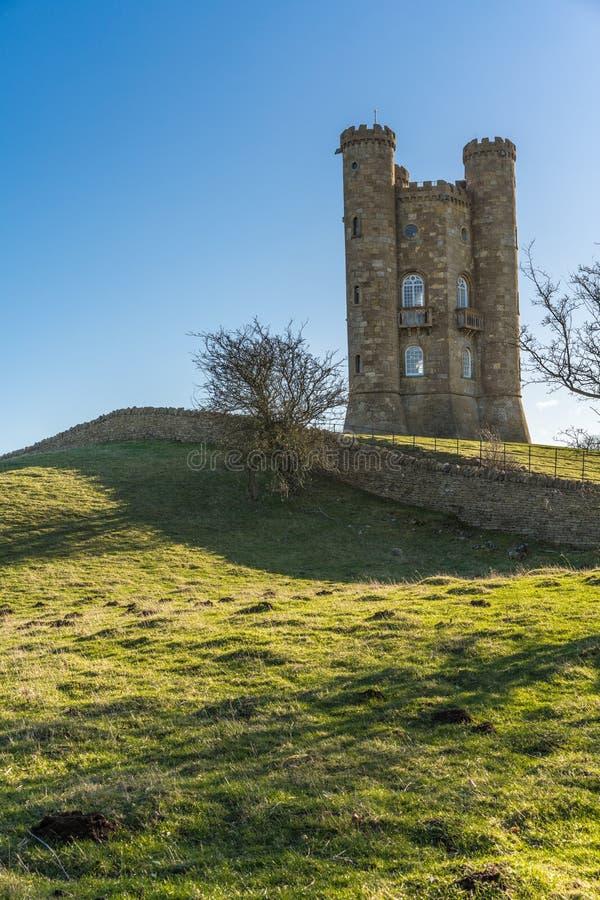 Broadway-Turm, Cotswolds, Worcestershire, Großbritannien stockfotografie