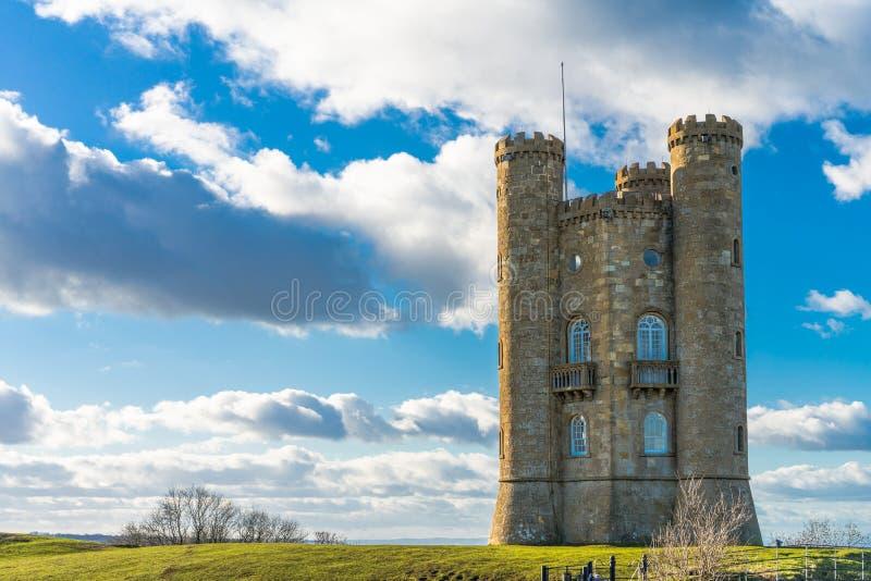 Broadwaytoren, Cotswolds, Worcestershire, het UK royalty-vrije stock afbeeldingen